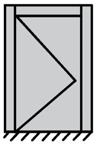 1 vantail